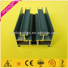 Wow!!Aluminum rails for double glazing windows and doors/aluminium rail profile for sliding door and window/manufacturer/factory