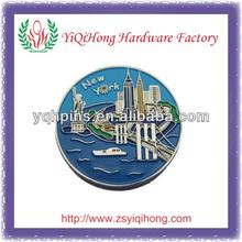 New York City Metal lapel pin badge/emblem