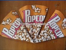 Triangle popcorn bag