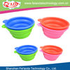 Very Portable Silicone foldable dog travel bowl for 2013 hot sale
