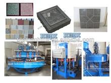 KB-125E/400 china machine Concrete Tile Machine production line