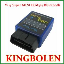 Vgate Mini ELM327 Interface V1.5 Bluetooth OBD2 / OBD II Auto Car Diagnostic New