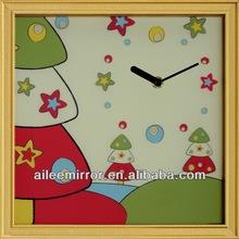 Fashional designed wall clock modern design desktop clock rolling ball clock
