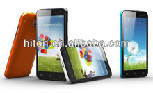 cheap China made 3G 4.7 android 4.1 inch MTK6577 dual core smartphone with dual card standby and dual camera