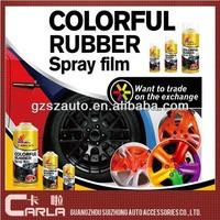 Fast dry peelable car wheel bosny acrylic spray paint