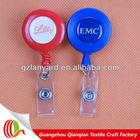 EU standard retractable yoyo holder,retractable badge reel key holder