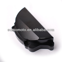 CNC machining billet engine protection cover, fit for Suzuki GSXR600 06-09, GSXR750 06-09, left, CNC-EC-002