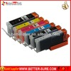 Excellent PGI-250 CLI-251 set B C M Y new compatible canon ink cartridge