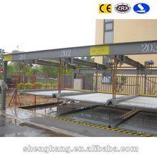2 Floors Smart Card Uderground Parking Garage Design/Multi-level Underground Car Parking System Dongyang Parking/ Automatic Car