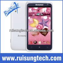 "lenovo S720 4.5"" QHD IPS Andorid 4.0 MTK6577 OS GPS WIFI 512 RAM+4GB ROM Dual core dual sim card mobile phone"