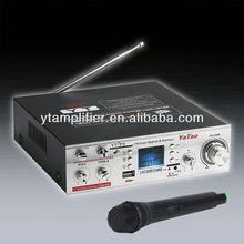 De alta fidelidad de dvd mini combo YT-F6 con micrófono inalámbrico