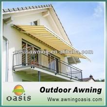 New design window folding aluminum awning