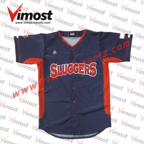 Baseball Jersey no Buttons Button up Baseball Jersey/