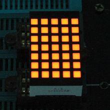 Yellow color 5*7 full led dot matrix,led sign