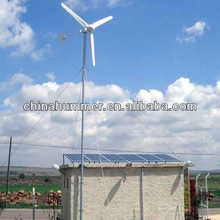 2kw wind generator,2000Watt off grid home use system,cheap price with guyed tower, three blades export to more than 90 countries