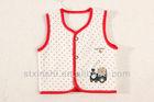 Fashion Cotton Lion Train design Vests & Waistcoats for baby