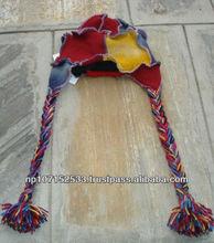 wwoolen patch overlock stitch ear cap price 220rs $2.58