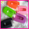 Good quality soft rubber silicone car key case for hyundai flip key case,anti-friction and shockproof perfect suitable