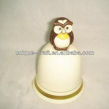 Home decoration bell ceramic manufacturer