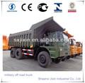 Hors véhicule routier shacman militaire. 6x4 saled en afrique