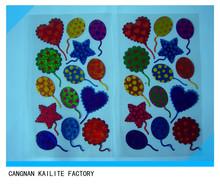 Various Decorative Custom 3d Self Adhesive Crystal epoxy sticker