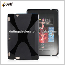 X Line Soft TPU Gel Case Cover For Amazon Kindle Fire HD X8.9