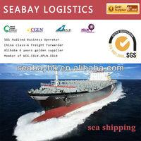 sea shipping shanghai to usa/canada