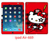 Best Laptop Skins for Ipad Air Hello Kitty Vinyl + Leather Decal Skins