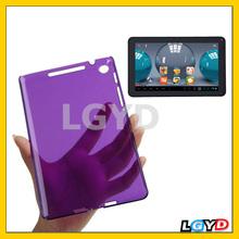 Fashion Transparent Smooth Surface Plastic Case for Google Nexus 7 (2013 Version), Purple
