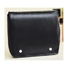 Fashion Design Black Toilet PU Bag