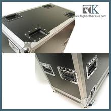 2013 RK-waterproof stereo speaker flight case detail