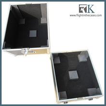 2013 RK-aluminum fireproof/waterproof speaker road case with foam
