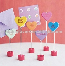 Sweet Talk Conversation Hearts Place Cards/Photo Holders