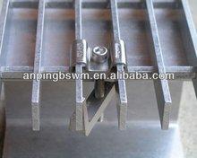 YB/T4001.1-2007 Galvanized Cast Iron Trench Drain Grates/Steel Platform Bar Grating/Steel Walkway in low price