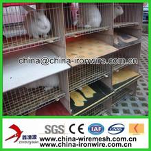 12 Door Commercial Rabbit Cage