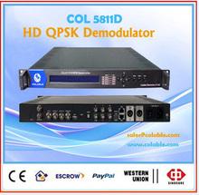 COL5811D digital catv qam demodulator,dvb-c demodulator,hd qam to ip decoder