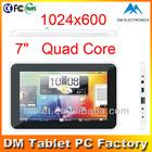 Tablet mini pc ATM7029 quad core 1 year warranty android tablet in china android tablet China manufacturer