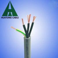 Round Multi Core Flex Control Electronic Wire
