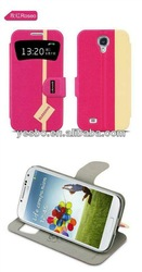 hot selling stand pu leather case for iphone 5c