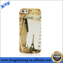 HXY IMD plastic hard shell skin cover for iphone 5s/5c case
