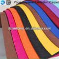 2m/3m/4m punced aguja a prueba de fuego nonwowen alfombras de exposiciones con la película eb_012