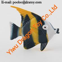 Plastic funny tropical fish