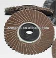 de alta calidad 100mm 150mm de carburo de silicio flexibles disco de la aleta para el vidrio pulido y rectificado