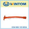 Plastic oil level dipstick funnel 06B 103 663A for VW SANTANA