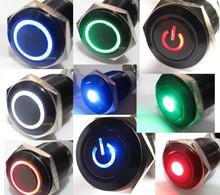 Control push button light switch 12v led light on off /self-locking