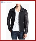 Mens wool leather varsity letterman jacket