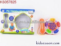 PRE-SCHOOL KIDS EDUCATIONAL CARTOON ELECTRONIC PHONE TOYS