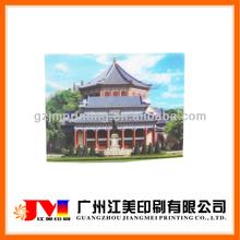 Famous landscape promotion 3d paper postcard