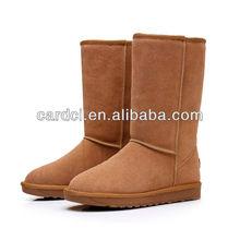 Women snow boots 2014 cheap latest hot selling wholesale women sheepskin snow boots