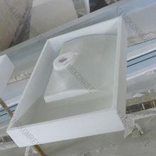 Single bowl wash bowls / solid surface bathroom sink